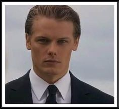 Younger Sam Heughan