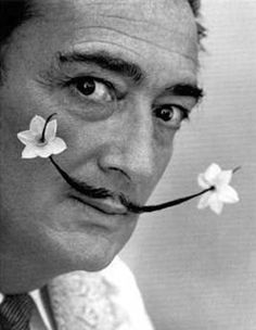 Mr. Dali was certainly unique. He pioneered the iconic melting surrealist movement and the hard/soft juxtaposition in his art. An eccentric man but then again what artist wasn't.