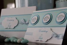 Einladungskarte Taufe Jungen Prinz von Eva's CardArt (www.evascardart.de) auf DaWanda.com