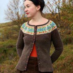 Kate Davies yoke pattern