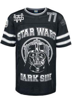 """Maglia uomo a rete """"Darth Vader Mesh Shirt"""" di #StarWars in tessuto traspirante."""