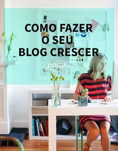 Faça seu blog crescer // Parte 1   Blogs de Moda #blogging #dicasblogs Business Marketing, Internet Marketing, Web Design, Facebook Instagram, Earn Money Online, Blog Tips, Marketing Digital, Tricks, Social Media