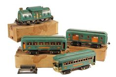 For some people, collecting toy trains isn't just another hobby or interest; The concept of collecting toy trains has been around for centuries. Nearly everyone has some type of connection to toy trains, whether it Standard Gauge, Hobby Trains, Train Engines, Model Train Layouts, Train Set, Models, Classic Toys, Old Toys, Model Trains