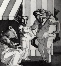 Paula  Rego - The Frog  Signed Etching and Aquatint