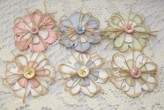 Handmade Flower Embellishments