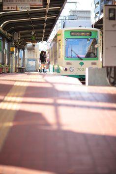 Arakawa Line, Tokyo, Japan