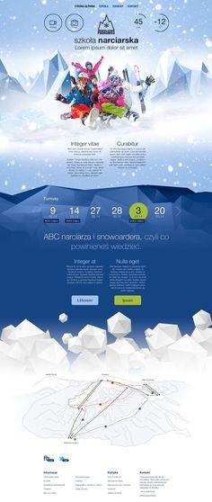 Unique Web Design, Padasnieg #WebDesign #Design (http://www.pinterest.com/aldenchong/)