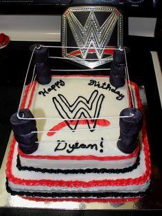 Hecho En Casa Tarta WWE John Cena Y Seth Rollins Hecho En Casa
