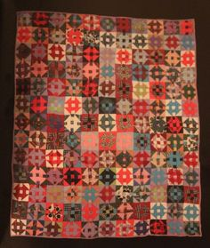 Churn Dash quilt, in:  Bold Improvisation: Searching for African-American Quilts - The Heffley Collection. Posted by fiberchick
