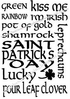St Patricks Day print