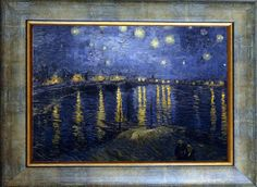 Ван Гог-Звездна Нощ над Рона II-Ван Гог