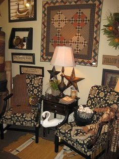 We are official dealers for Dunroven, The Added Touch, Town & Country and Lancer Country Primitive Upholstered Furniture. We are located in Radcliff, KY which is just south of Louisville,KY. If you have any questions on these or any other items in our pictures please feel free to give us a call. Please see our website www.theredbrickcottage.com for more shop pictures, info and directions. There is also a great shopping area on our website.