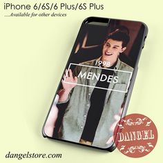 Shawn Mendes 1998 Phone case for iPhone 6/6s/6 Plus/6S plus