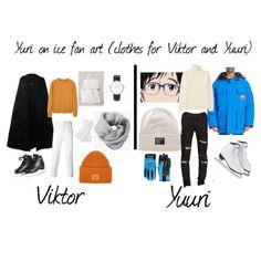 Yuri on ice outfit for a date