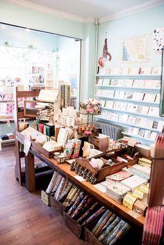 Greenwich Letterpress stationery shop New York