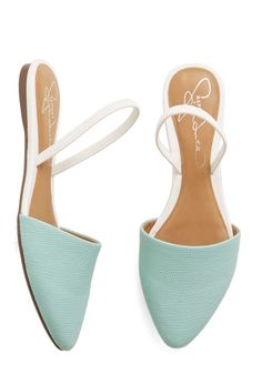 Atlanta on My Mind Flat in Blue, #ModCloth