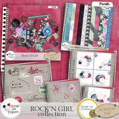 Rock N Girl Collection par Scrap de Yas et Christaly Scrap