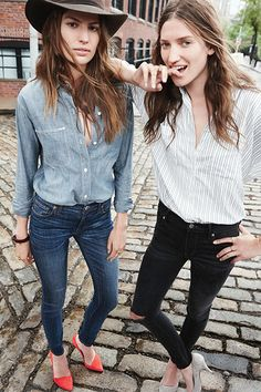 Madewell's Fall Denim Makes It Okay To Rush Through Summer #refinery29  http://www.refinery29.com/2014/07/71925/madewell-fall-denim#slide1