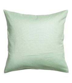 Cushion cover in cotton canvas with concealed zip.