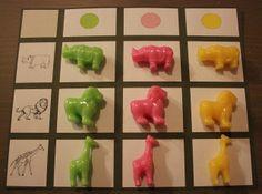 Montessori le tableau à double entrée