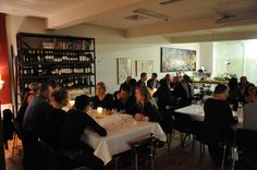 Perfect setting for 30 designer, and management from successful trading company. Meeting - Winetasting and private dinner.