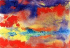 Emil Nolde Evening Landscape