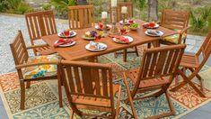 "72"" Eucalyptus Extension Dining Table"