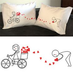 All My Love for You Couple Pillowcase Set