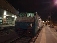 夜のテルミニ駅