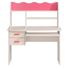 Parisot - Schreibtisch Lilou 3, Weiß/Pink