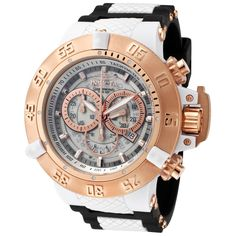 Shop for Invicta Men's 0931 Subaqua Quartz Chronograph White Dial Watch. Get free delivery On EVERYTHING* Overstock - Your Online Watches Store! Best Watch Brands, Online Watch Store, Luxury Watches For Men, Sport Watches, Man Watches, Fashion Watches, Fashion Men, Casio Watch, Gold Watch