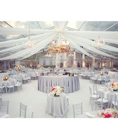 A Week Full of Wedding Tents: The Clear Tent