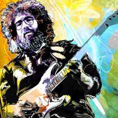 jerry garcia :) we all miss you!!