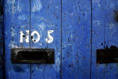 The door of a garage on French's Quay, Cork.