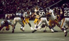 d2d479cc299 Franco Harris against the purple people eaters in Superbowl