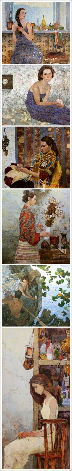 """Denis Sarazhin Artist -  Another pinner said """"I saw the original in Scottsdale, AZ and could not take my eyes off this painting!"""""""