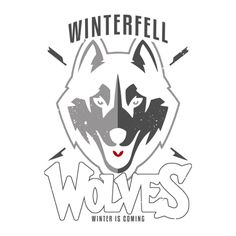 Check out this awesome 'WINTERFELL+WOLVES' design on TeePublic! http://bit.ly/1shtk17