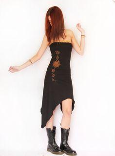 Lotus flower dress. Pixie dress, long dress, burning man clothing, goddess ,fairy , festival clothing, tube dress, lace, elven clothing,