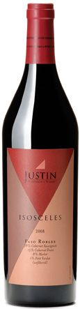 Justin Isosceles Red Wine An all-time FAVORITE wine. Bordeaux-style blend of Cab Sauv, Cab Franc, and Merlot, this dynamite wine is perfect for any and all beef dishes...grilled steaks, burgers, sauces, roasts, anything! YUM. Thank you Justin Vineyards! #wagyu #winewithsteak #winepairings