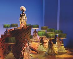 set design lion king broadway - Google Search