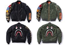 BAPE Shark MA-1 Jacket