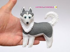 DOGS different kinds ornaments magnets Dog toy ANY | Etsy Miniature Husky, Dachshund, Felt Dogs, Dog Ornaments, Felt Fabric, Mountain Dogs, Felt Crafts, Dog Crafts, Felt Animals