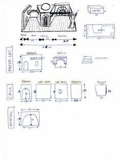 Foro de Belenismo - Arquitectura y paisaje -> Portal con callejuela Cardboard Box Houses, Portal, Building Furniture, Mixed Media Canvas, Christmas Diy, Back To School, Crafts, Bethlehem, Ideas
