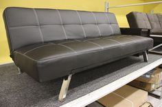 Black Futon (available only in stores) Click image to see weekly ad #MeijerDormDecor #DormDecor