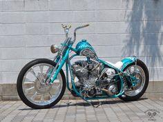 Venus built by Motorcycles Force of Japan - Image 7339 Badass Motorcycle Helmets, Motorcycle Paint Jobs, Chopper Motorcycle, Motorcycle Travel, Scrambler Motorcycle, Motorcycle Design, Bike Design, Chopper Helmets, Girl Motorcycle