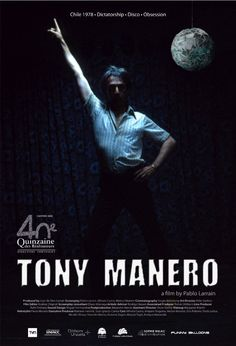 """Tony Manero -  Pablo Larraín 2008 - DVD04366 -- """"A serial killer is obsessed with John Travolta's disco dancing character from Saturday Night Fever."""" IMDb.com"""