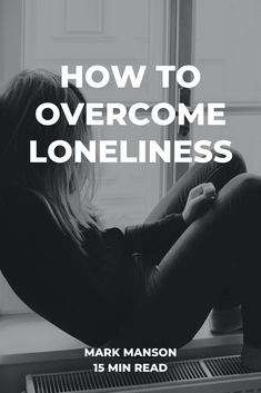 It's a strange paradox: the more connected we've become, the lonelier we feel. And this loneliness has wide-reaching implications. #markmanson #loneliness #psychology #lonely #happiness #mentalhealth How To Overcome Loneliness, Find Quotes, Paradox, Being A Landlord, Social Skills, Life Skills, Grief, Self Help, Feel Better