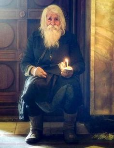 """julietjournal: """"Elder Dobri Dobrev is quite famous in the Orthodox world, but especially in his native country. Now around 100 years old, Dobri lived a normal life until a few decades ago when he. Arte Judaica, Religion, Lightning Strikes, Faith In Humanity, People Of The World, Eastern Europe, Belle Photo, Christianity, Saints"""