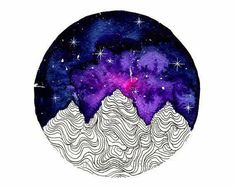 Silver Colorful Mountains Watercolor Art Print  - paper size: 21x29.7cm (A4) or 14.8x21cm (A5) - printed on heavy weight (250gsm), textured, acid free, watercolor paper - each print is signed on the back - shipping worldwide - each print is ornamented with silver paint    Feel free to message me & thanks for visiting my shop!   ✰ you can see my other works here: https://www.etsy.com/shop/skyesartworks ✰ society6: https://society6.com/skyesartworks ✰ inst...