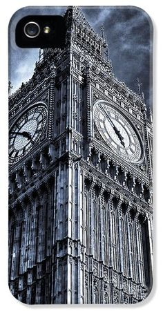 Big Ben Double Time iPhone and Galaxy Case by John Rizzuto